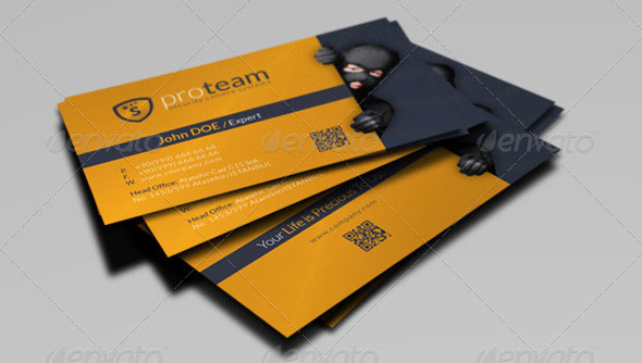 22 creative indesign business card templates design freebies security systems business card template flashek Choice Image
