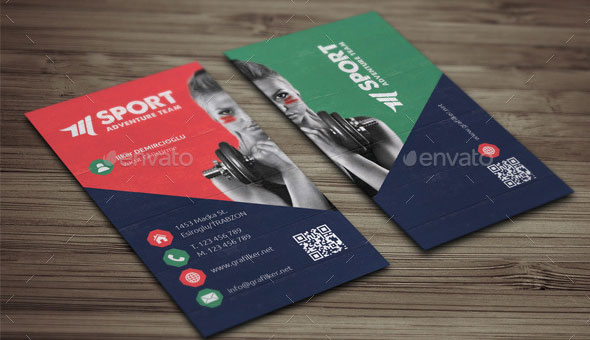 Sports Business Cards Samples images