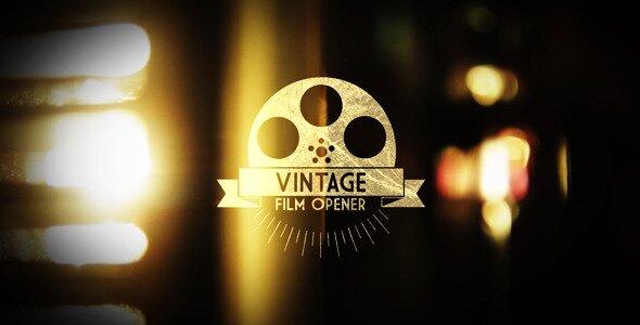 Vintage Film Opener