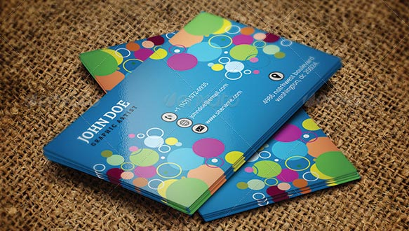 colorful business card 01