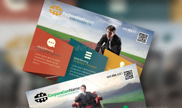 Business Flyer 26 with Postcard