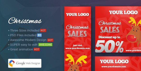 Christmas Banners Web Banner Template