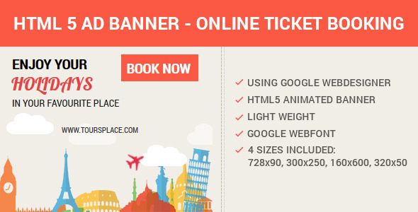 HTML5 Animated AD Banner