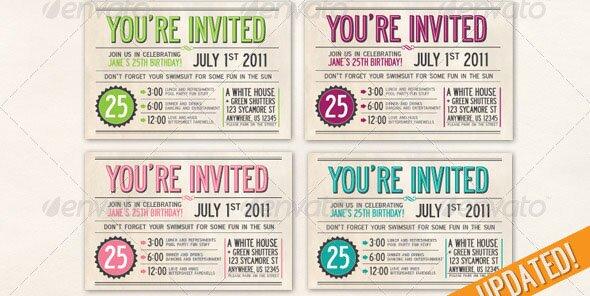 22 beautiful postcard psd templates  u2013 design freebies