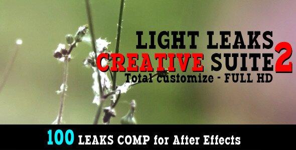 Light Leaks Creative Suite 2100 Comp