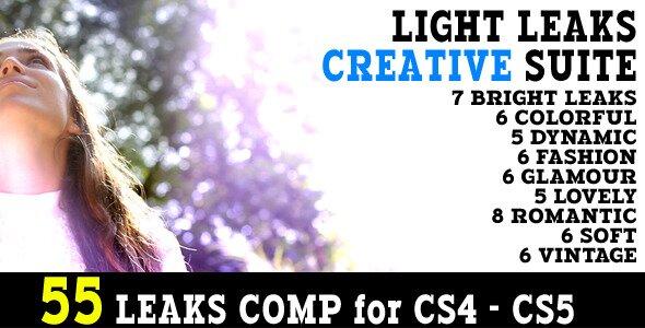 Light Leaks Creative Suite 55 Animations