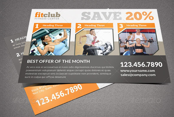 Product Offer Postcard