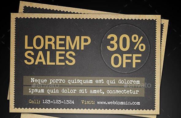 Sale Postcard