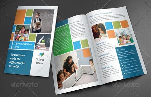 great brochure templates 19 great school brochure templates design freebies