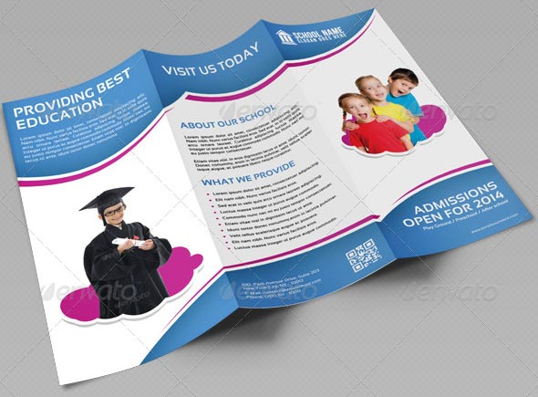 School Promotion Tri-Fold Brochure Vol 1