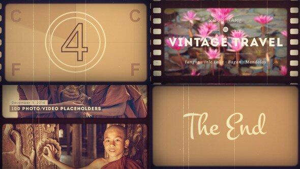 Slideshow Vintage Travel