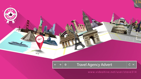 Travel Agency Advert After Effects