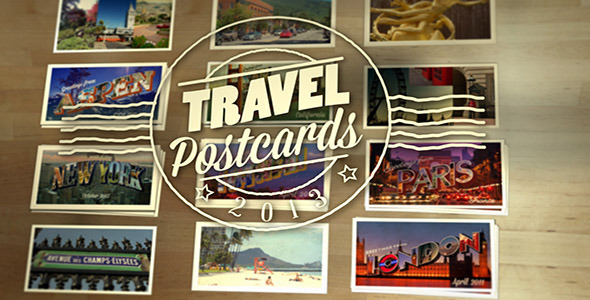 Travel Postcards After Effects
