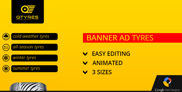 Tyres Ad Banner