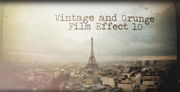 Vintage and Grunge Film Effect 10
