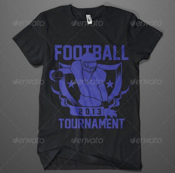 20+ Cool T-shirt Design Vectors For Soccer & Football – Design Freebies