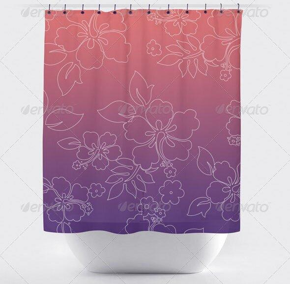 Bath Curtain Mock-up
