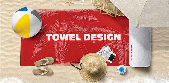 Beach Towel Mock-up