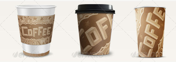 Coffee Cup Mockup PSDs