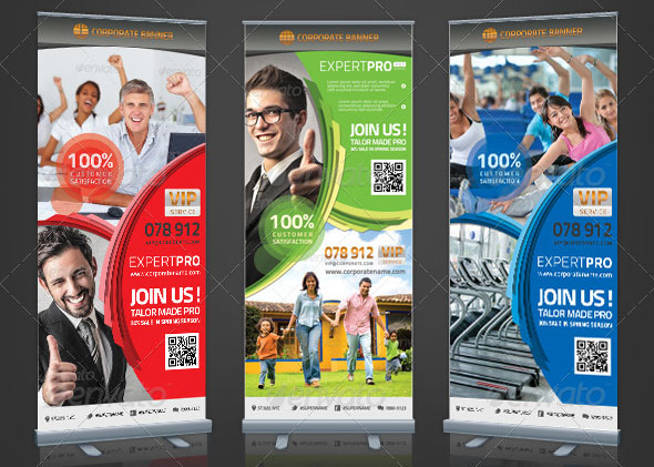 Corporate Roll-up Banner Expert Pro