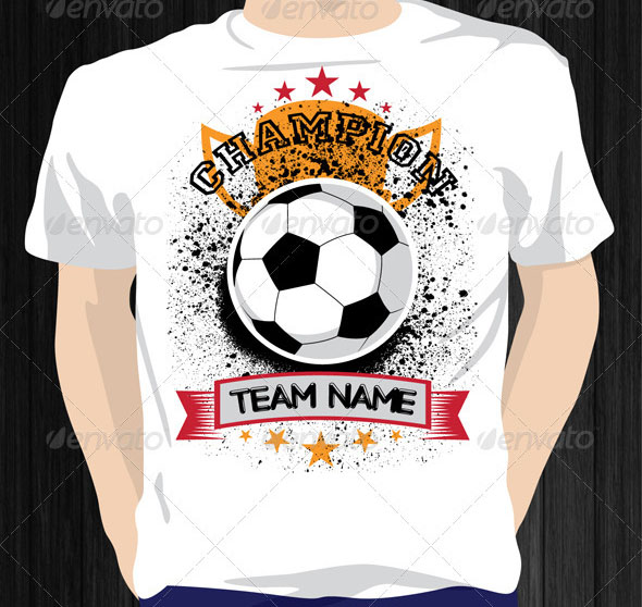 Football Champion T Shirt
