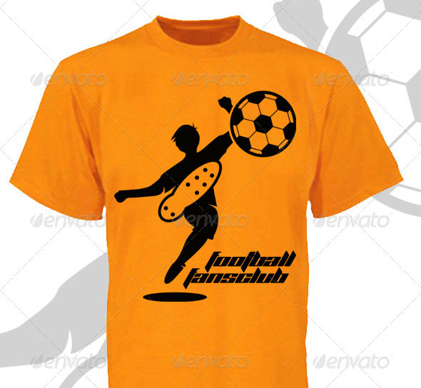 20 Cool T Shirt Design Vectors For Soccer Football