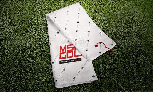 Golf Towel Mock-up
