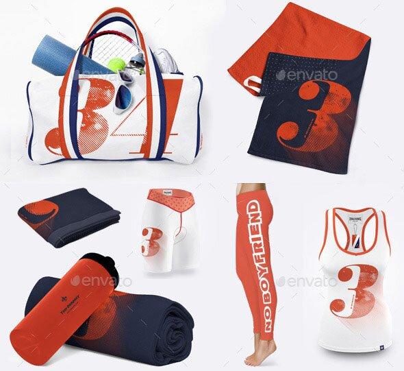 Beach Towel Bundle: 16 Beautiful Towel Mockup PSDs