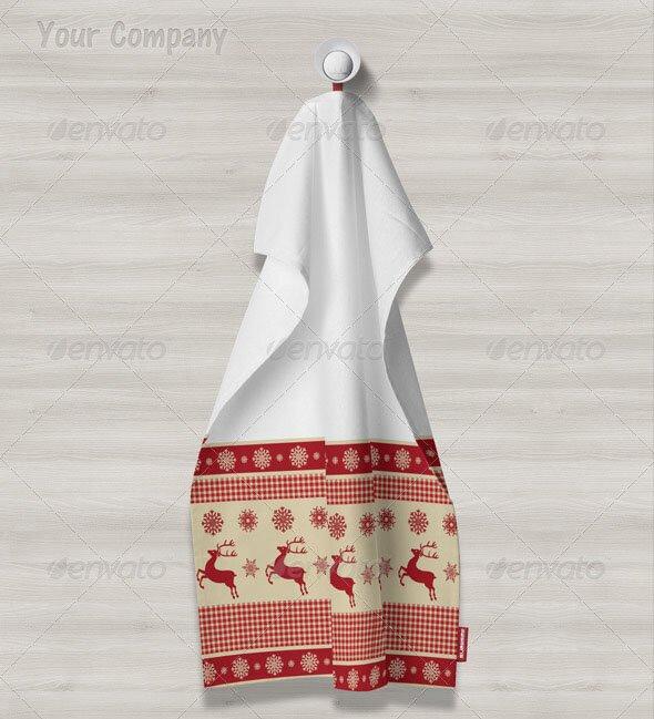 Kitchen Towels Mock-up