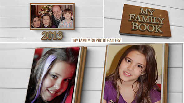 My Family 3D Photo Gallery