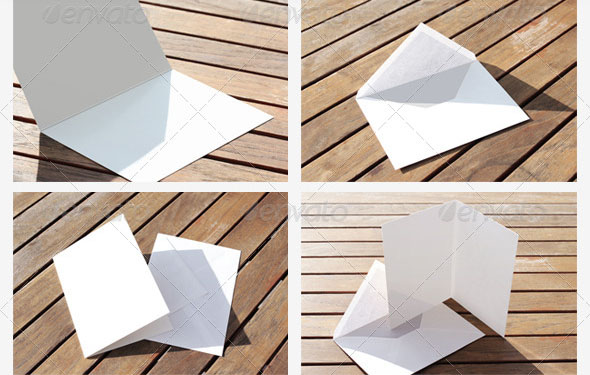 Natural Greeting Card Mockups 2