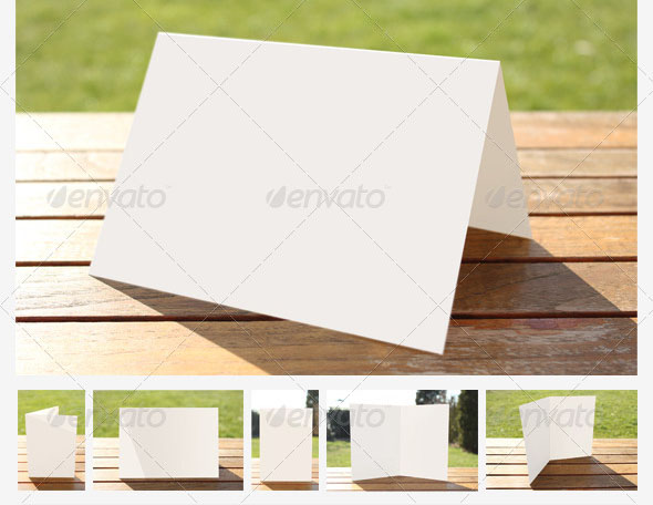 Natural Greeting Card Mockups 3
