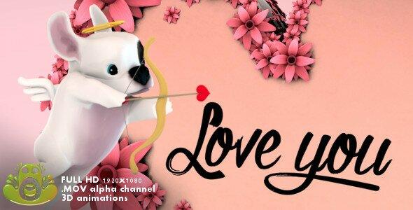 Romantic Cupid Slideshow