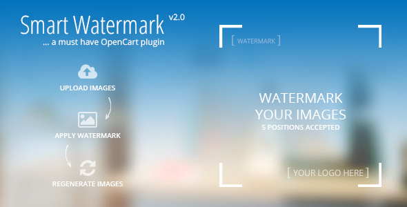 Smart Watermark A must have Opencart Plugin