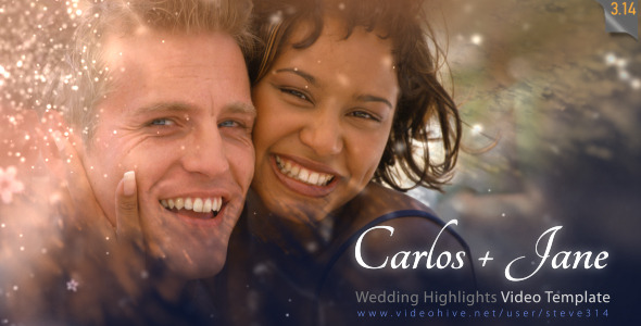 Wedding Highlights Video Template