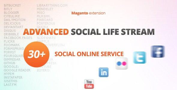 Advanced Social Life Stream