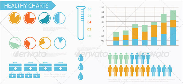 Medical Infographics Elements 01