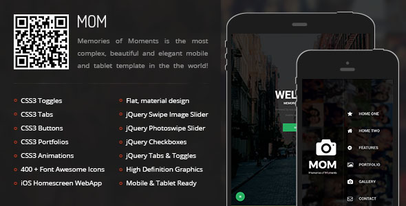 Mobile Tablet Responsive Template