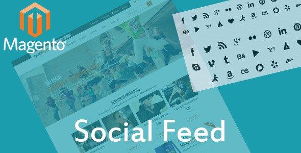 Social Feed Sliding Tabs Media