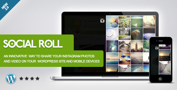 Social Roll Instagram for WordPress