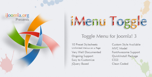 iMenu Toggle Toggle Menu for Joomla