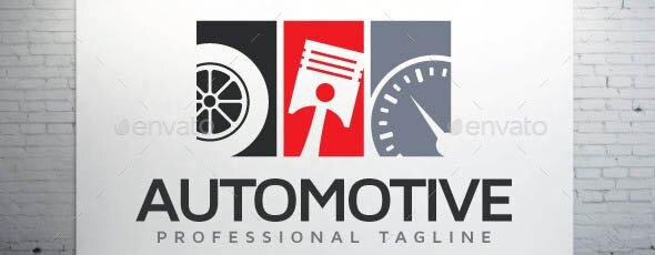 Automotive Logo Tag
