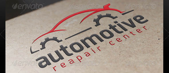 Automotive Repair Logo Template