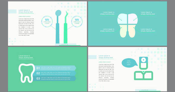 7 useful powerpoint templates for medical presentation – design, Modern powerpoint