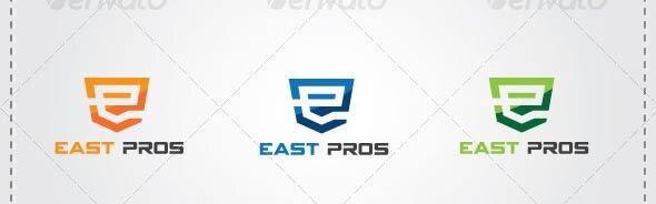 E Letter Automotive Logo