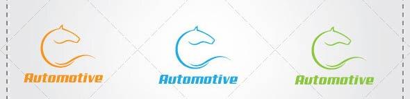 Horse Automotive Logo