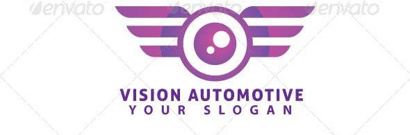 Vision Automotive Logo Template