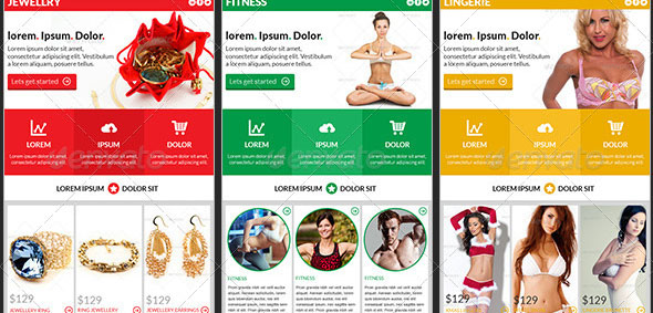 Ecommerce Newsletter Template