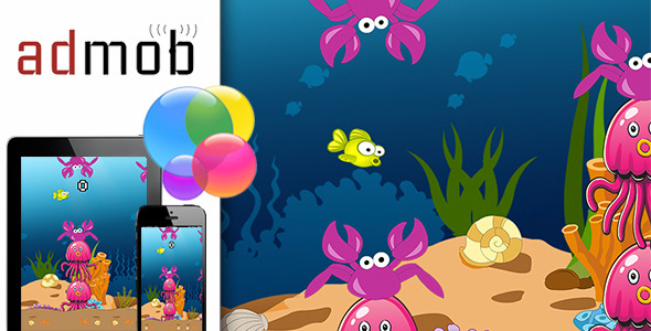 Flappy Fish with Admob and Gamecenter