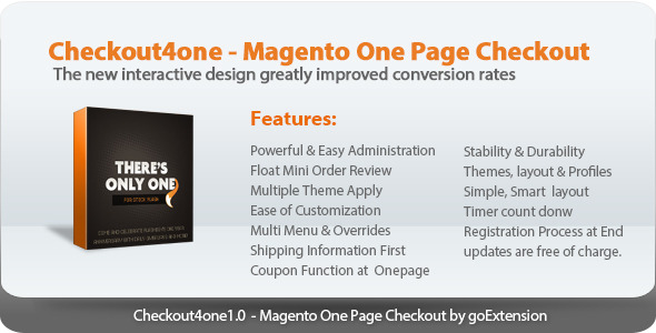 Checkout4one Magento One Page Checkout